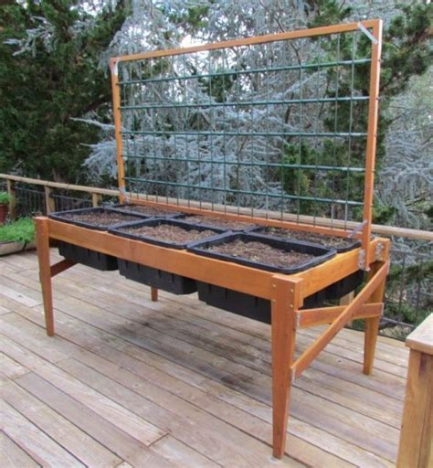 lovely elevated raised garden bed plans grow it