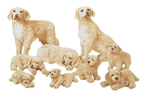 stuffed golden retriever plush golden retrievers realistic stuffed animals piutr 232