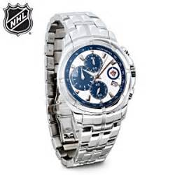 nhl winnipeg jets chronograph mens