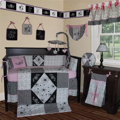 Pink And Black Crib Bedding Sets Buy Best Price Custom Baby Bedding Black White Pink 13 Pcs Crib Bedding Set For Sale Cheap