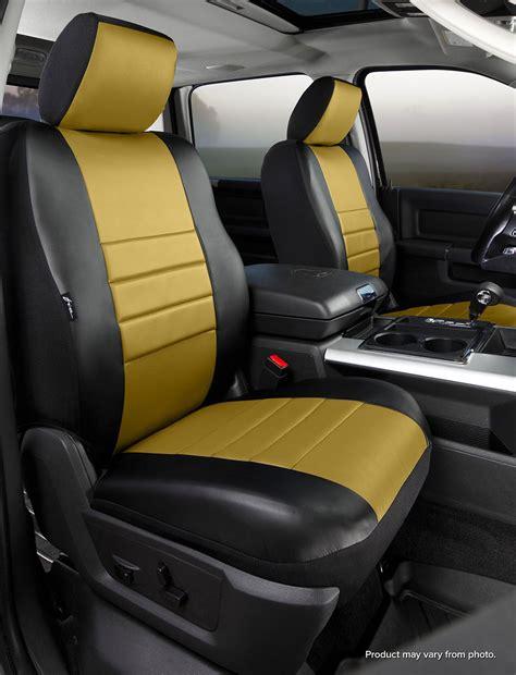 2014 tundra cab seat covers fia sl69 41 mustard sl front seat cover toyota