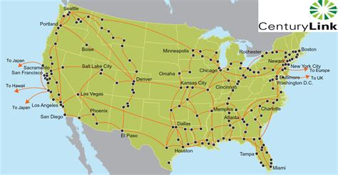 centurylink service area map carrier network vootwerk