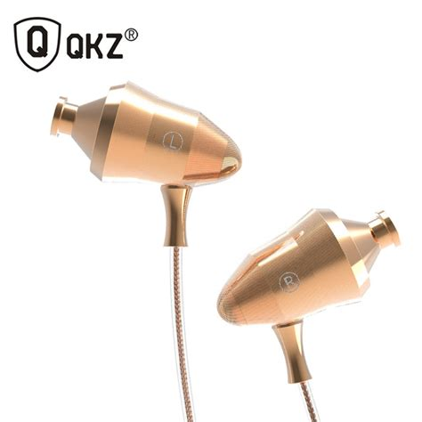 qkz stereo in ear earphones with microphone qkz dm5 golden jakartanotebook