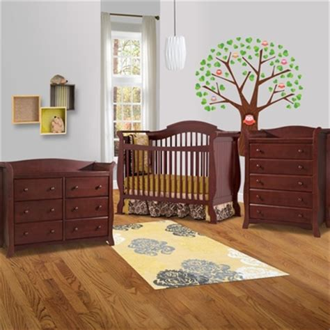 storkcraft avalon 6 drawer dresser cherry storkcraft 3 piece nursery set valentia convertible crib