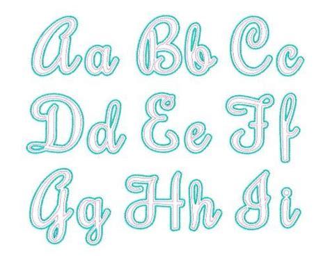 free printable applique fonts adore applique script font