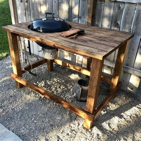 table with built in grill and rhzapinterestcom weber table with built in grill bbq