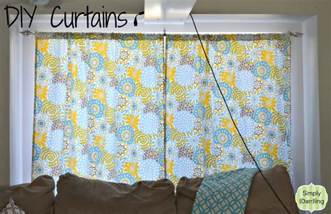 cost to make curtains easy diy curtains simply darr ling