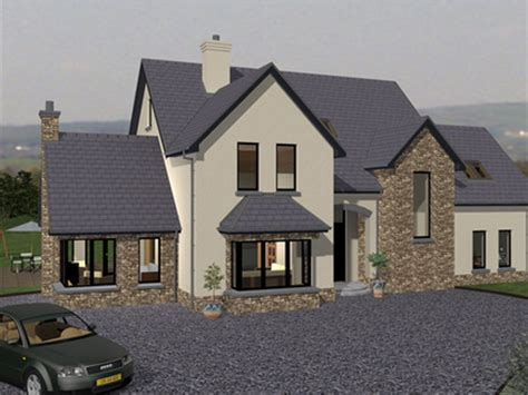 irish house design modern bungalow house plans ireland modern small house