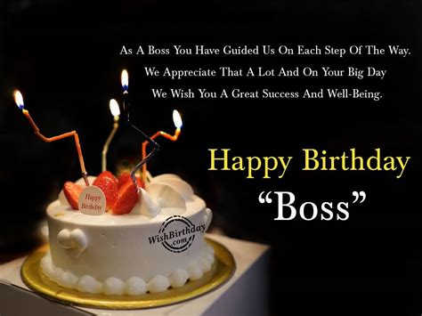 Way Wishing Happy Birthday Best Wishes For Boss Happy Birthday E Card Nicewishes