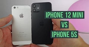 Image result for iPhone 12 mini vs iPhone 5s. Size: 298 x 160. Source: www.youtube.com