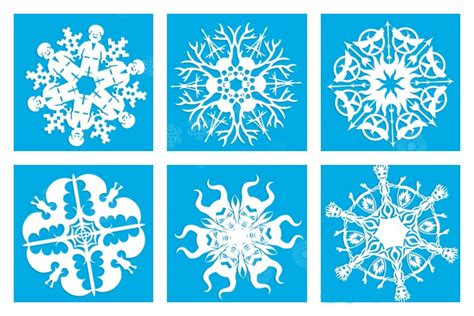 snowflake patterns cool 20 cool snowflake patterns to make with kids or not