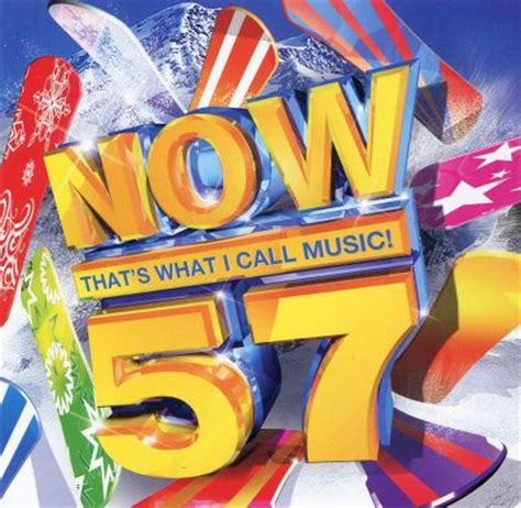 now 57 various artists various artists now that s what i call music 57 on