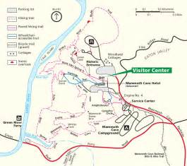 mammoth cave maps npmaps just free maps period