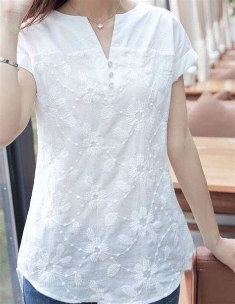Vira White Blouse by Pin By رجاء ربي On مسلمة ستايل Blouse