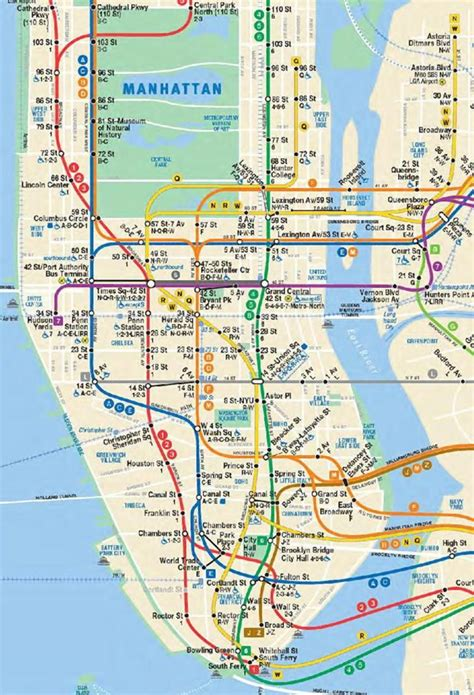 mta maps mta gives peek at updated subway map with second ave line ny daily news