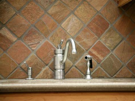 elegant kitchen backsplash ideas slate backsplashes pictures ideas tips from hgtv