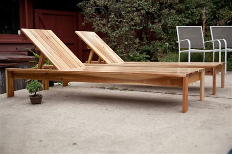 modern single outdoor chaise lounge diy outdoor