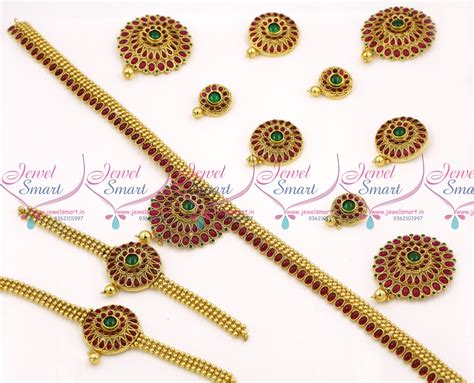 Set Bridal India Kalung India Premium Aamh021 br6821 bridal indian traditional complete wedding dulhan jewellery set