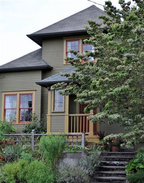 1000 images about craftsman bungalow colors on