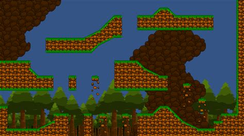 wallpaper games maker platform tileset jungle by ripper studios gamemaker