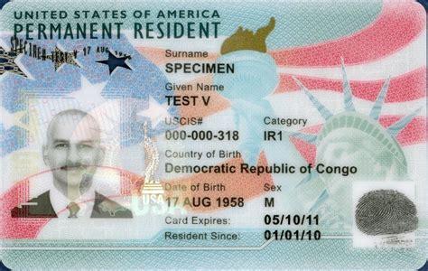 New Permanent Resident Card Design