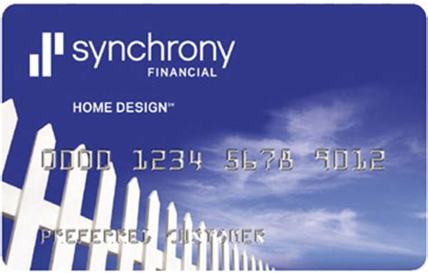 synchrony home design credit card login home improvement financing synchrony bank