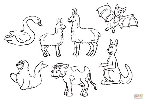 Is Your Mama A Llama Set Coloring Online  Super sketch template