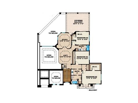 great house floor plans plan 037h 0039 great house design