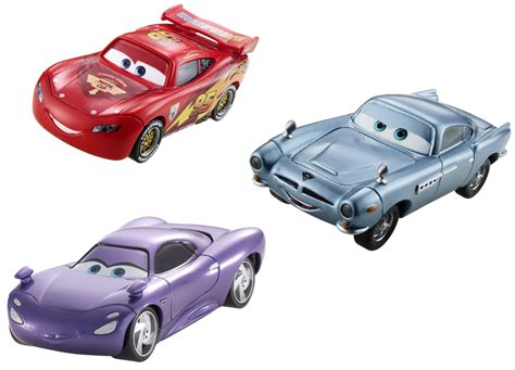 toy car pixar corner cars 2 races into the toy fair