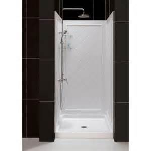 dreamline slimline 36 in x 36 in single threshold shower