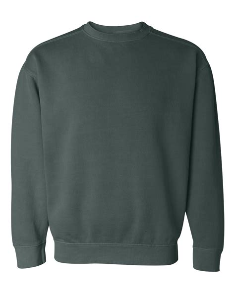 comfort colors sweatshirt comfort colors pigment dyed crewneck sweatshirt 1566