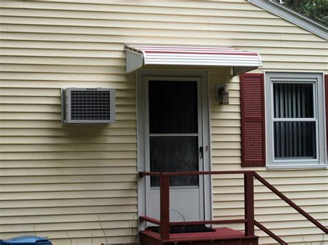 aluminum door awnings boston home aluminum awning photos
