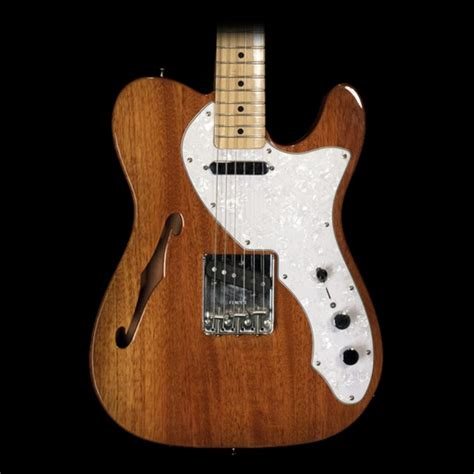 Synchrony Financial Home Design Credit Card by Fender 69 Quot Telecaster Thinline Guitar In Natural Finish