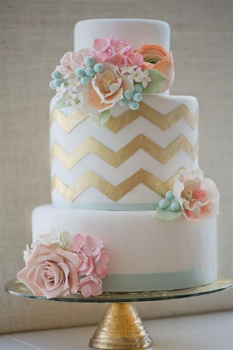 wedding cakes pictures chevron wedding cakes