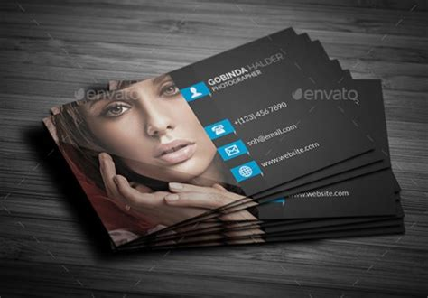 card templates digital photography a list of exceptional photography business card templates