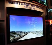 Image result for largest flat screen tv. Size: 185 x 160. Source: yourdesignpartner.com