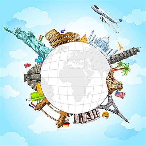 Around The World For Free around the world around world tourism background image