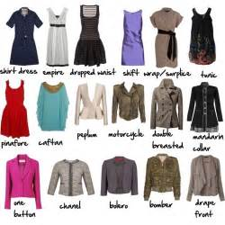 dress and jacket types via more visual