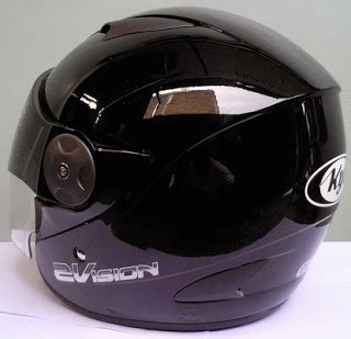 Helm Kyt Rocket White Black jualjakethelm helm kyt 2 vision black solid