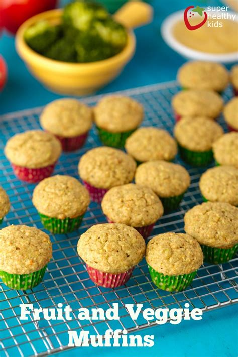 Bebelac Complete Fruit And Veggie power packed fruit and veggie muffin recipe for picky eaters