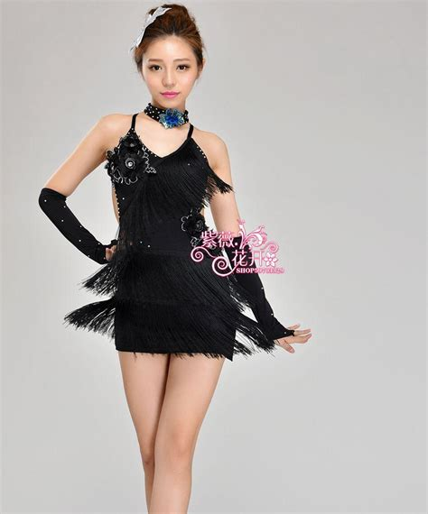 Cha Cha Gil Top dresses for sequin tassel style cha cha