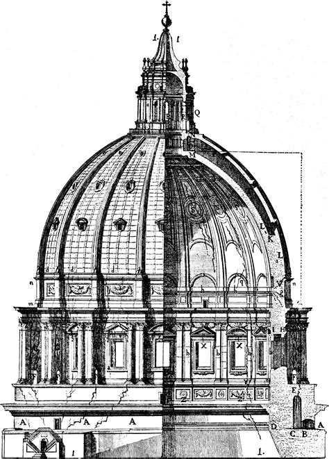 cupola dome file cupola di s pietro the dome with its ruptures