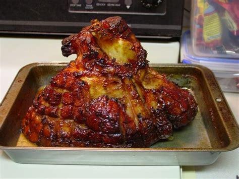 my carolina kitchen baked ham baked ham with bourbon glaze recipe cdkitchen