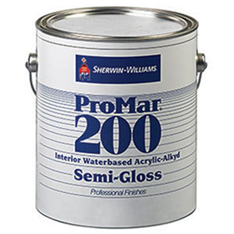 acrylic and alkyd paint sherwin williams promar 200 interior waterbased acrylic