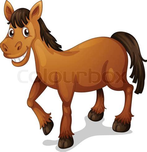 clipart cavallo stock vector colourbox