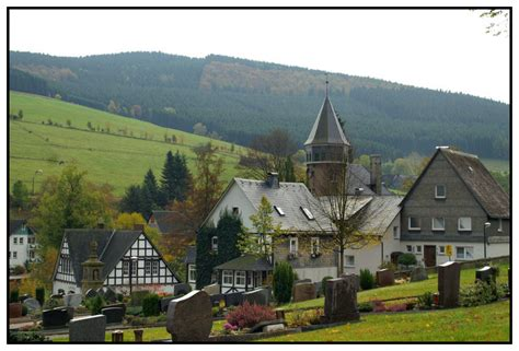 german village a peaceful german village a photo from nordrhein