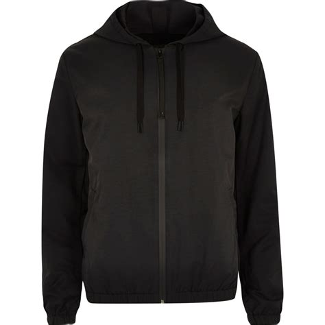 Black Hoodie Jacket black hooded jacket coats jackets sale