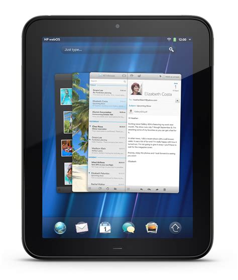 hp android tablet hp touchpad review lost in s shadow and sluggish for business cbs news