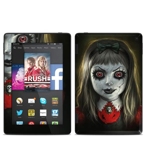 haunted doll 2014 kindle hd 7in 2014 skin haunted doll by