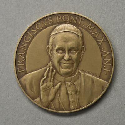 ufficio numismatico vaticano medaglia ufficiale i anno di pontificato di papa